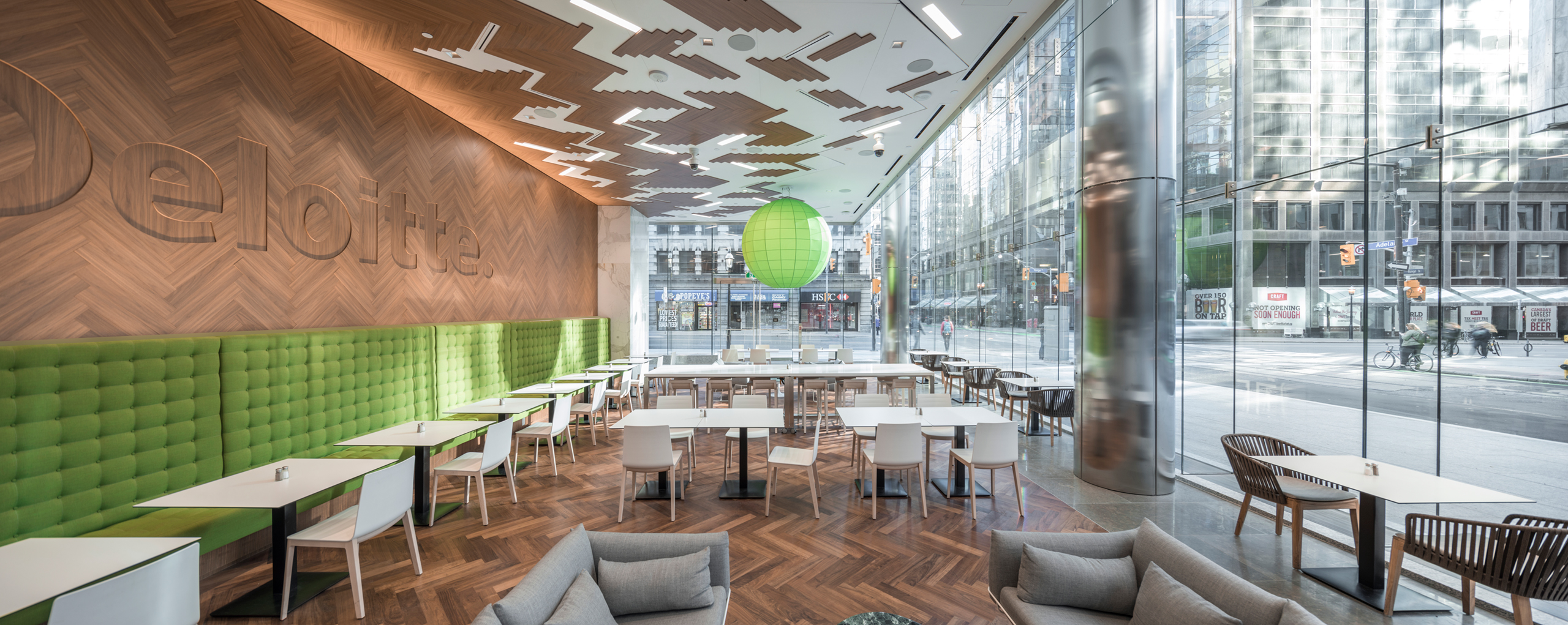 deloitte headquarters mulvey banani lighting design